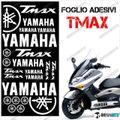 グラフィック デカール TMAX 01-07 KIT FOGLIO 500 ホワイト