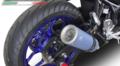 イタリア GPR / M3 TITANIUM MOTO 3 REPLICA スリップオン マフラー / YAMAHA ヤマハ YZF-R3 / YZF-R25 / MT-03 / MT-25 2015- Y.193.M3