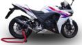 イタリア GPR FUNEブラック スリップオン マフラー (公道仕様) CBR400R CB400F CB400X NC47 2013-H.222FUNE