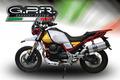 イタリア GPR / SONIC INOX スリップオン マフラー 公道仕様 / モトグッツィ MOTO GUZZI V85 TT 2019-2020 E4.GU.63.SOIN