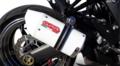 イタリア GPR ALBUS CERAMIC(ALB) ホワイトセラミック スリップオンマフラー(公道仕様) Kawasaki Ninja 1000 2011-2016 K.158.ALB