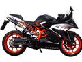イタリア GPR / Deeptone カーボン 触媒付き スリップオン マフラー 公道仕様 / KTM RC200 2014-2016 KTM.71.1.DC