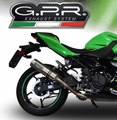 イタリア GPR / スリップオン マフラー(公道仕様) / Kawasaki Z400 Z250 2018-