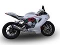 イタリア GPR GPE TITANIUM スリップオン マフラー F3 800 MV.7GPE