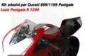 Ducati 899 1199 1299 パニガーレ  1299R レプリカ ステッカー デカール セット