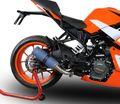 イタリア GPR / M3  チタン MOTO3 レプリカ スリップオンマフラー  /KTM RC390 2017-  /KTM.90.M3