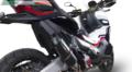 イタリア GPR FURORE NERO (FUNE) ブラック スリップオン マフラー HONDA X-ADV 750 2017- H.245.FUNE
