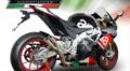 GPR THUNDERSLASH (TH) サイレンサー(競技走行専用) スリップオン マフラー Aprilia RSV4 RF 2016-