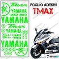 グラフィック デカール TMAX 01-07 KIT FOGLIO 500 グリーン
