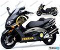 グラフィック デカール 車体用  / ヤマハ TMAX  500 01-07 / 12 KIT  ゴールド