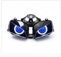 Demoneyes デーモンアイ HID プロジェクター LED ヘッドライトユニット ブルー ホンダ CBR600RR 2003-2006