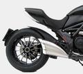 ZARD SS/AL/CAT スリップオン マフラー ステンレスボディー/アルミエンド 公道仕様 Ducati Diavel 10-  ZD117SSO