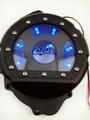 G.selections / Honda CBR600RR 2007-2012 クリア/シースルーエンジンスターターカバー ブラック LED 付き