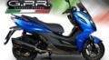 イタリア GPR FUNE フルエキ マフラー KYMCO K-XCT 125 2015- KYM.3.FUNE
