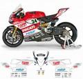 カスタム グラフィック デカール ステッカー 車体用 / ドゥカティ Ducati 899 / 1199 1299 パニガーレ / WORLD SBK 2014 REPLICA レプリカ