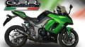 イタリア GPR PANDEMONIUM フルカーボン スリップオンマフラー(公道仕様) Kawasaki Ninja 1000 2011-2016 K.158.PND