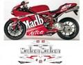 グラフィック デカール 車体用 / Ducati 848 1098 1198 / REPLICA MOTO GP WORLD CHAMPION 2008