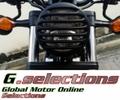G.selections / ブラック ヘッドライト カバー グリル / ホンダ レブル 250 / 500 2018- ( MC49 )