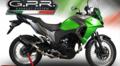 イタリア GPR FUCA カーボンルック スリップオンマフラー Kawasaki VERSYS-X 250 K.165.FUCA