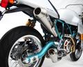 ZARD レーシング KIT COMPLETO VERSIONE 2>2 フルエキゾーストマフラー DUCATI PAUL SMART/SPORT1000
