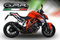 イタリア GPR / GPE Poppy スリップオン マフラー 公道仕様 / KTM 1290 スーパーデュークR SUPERDUKE 2014-2016 KTM.78.GPEPO
