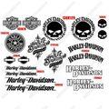 グラフィック デカール NEGRO HARLEY DAVIDSON ハーレー SCREAMIN EAGLE ブラック
