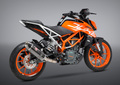 USヨシムラ / R-77 カーボン 3/4システム レーシング マフラー / KTM  DUKE デューク 390/250 2017- 163815J720