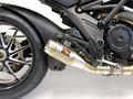 Ducati Diavel Competition Werkes GP Slip On ステンレス マフラー  WDDVL-S