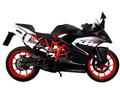 イタリア GPR / Albus 触媒付き スリップオン マフラー 公道仕様 / KTM RC200 2014-2016 KTM.71.1.ALB