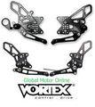 VORTEX RACING Adjustable レーシング バックステップ  各種