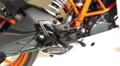 イタリア GPR  GHOST DEEPTONE  触媒付き(公道仕様) アンダースリップオンマフラー RC390 15-16 KTM.75.CAT.DE