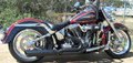 D&D Fat Cat フルエキ Harley Heritage Softail 84-11 514-31BBQ