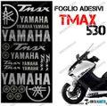 グラフィック デカール TMAX530 KIT FOGLIO  シルバー