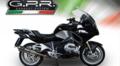 イタリア GPR TRI Tri-Oval スリップオン マフラー (公道仕様)BMW R1200RT 2015- BMW.77.TRI