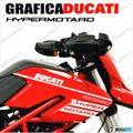 グラフィック デカール DUCATI HYPERMOTARD796/1100 EVO  ホワイト
