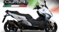 GPR FURORE NERO (FUNE) サイレンサー (公道仕様) スリップオン マフラー BMWC 650 SPORT 2016- BMW.84.FUNE