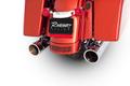 ラインハート RINEHART 4インチ スリップオン マフラー ツーリング  クロームエンド 500-0102C
