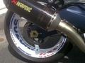 チーム スズキ  GSX-R ロゴ付きホイール デカール ステッカー