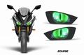 AMR Racing ヘッドライト アイ デカール EL YZF-R3/R25 2015-