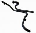 D&D X Cat 2:2 True X Header System Xキャット2-2 ヘッダーエキマニ ブラック ハーレー ツーリングモデル 09-16 10%馬力向上