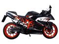 イタリア GPR / Furore カーボン 触媒付き スリップオン マフラー 公道仕様 / KTM RC200 2014-2016 KTM.71.1.FUCA