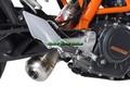 イタリア GPR PC アンダーマウント 触媒付き(公道仕様) スリップオン マフラー DUKE390/250 13-16 KTM.67.PC
