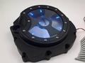 G.selections /  ZZR1400 06-16 クリア/シースルークラッチカバー ブラック +ブルーLED