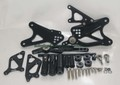 YAMAHA YZF-R1 09-12 社外 レーシングステップキットブラック CNC Rearset Rear Set Foot Rest Peg Black 2009 2010 2011 2012 YAMAHA YZF R1 YZFR1