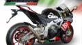 GPR  DEEPTONE INOX (DE)  (ステンレス) サイレンサー (競技走行専用) スリップオン マフラー Aprilia RSV4 RF 2016-