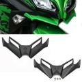 G.selections /フロント下部用 エアロ 空力 ウィングレット カーボンカラー V.1 / Kawasaki カワサキ  NINJA ニンジャ 250 2013-2017 / 2色 /