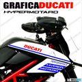 グラフィック デカール DUCATI HYPERMOTARD796/1100 EVO  ブルー
