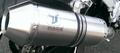 IXRACE X-PURE シルバー フルエキ マフラー MT-25 / MT-03 PZ9025