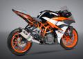 USヨシムラ / R-77 ステンレス 3/4システム レーシング マフラー / KTM RC390 RC250 2017- 16381CJ520