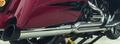 D&D Billet Cat 2:1 Chrome Full System Black 30 Angle Cut End Harley Touring 2-1 フルエキゾーストマフラー ハーレー ツーリングモデル 09-16 15%馬力向上